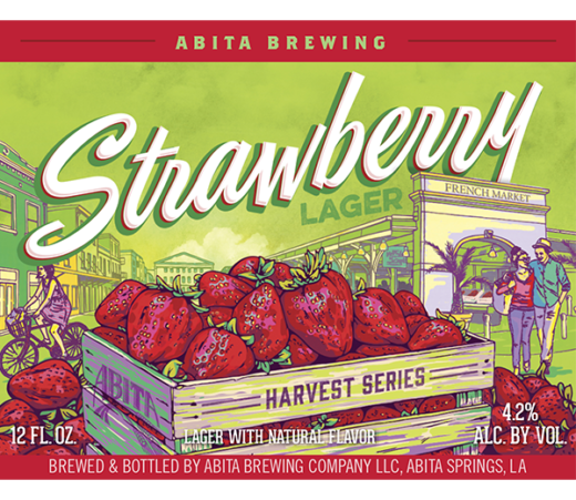 ABITA STRAWBERRY LAGER