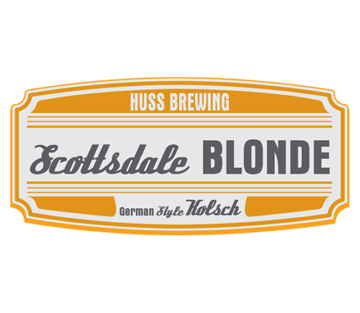 HUSS BREWING SCOTTSDALE BLONDE KOLSCH