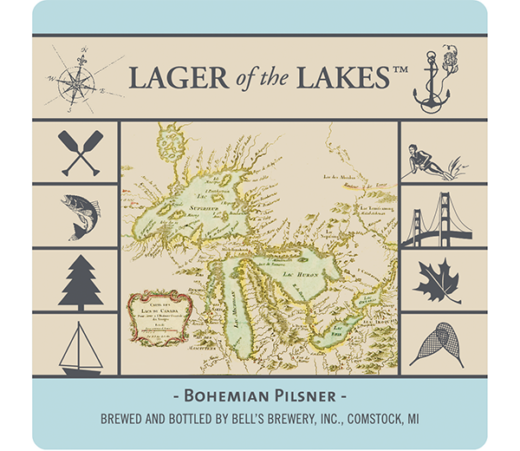 BELL'S LAGER OF THE LAKES BOHEMIAN PILSNER