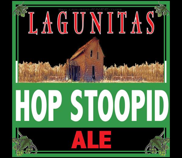 LAGUNITAS HOP STOOPID ALE