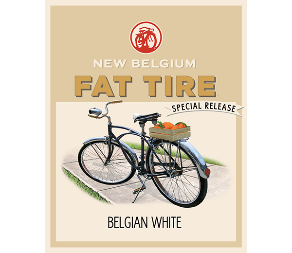 Image result for new belgium fat tire belgian white