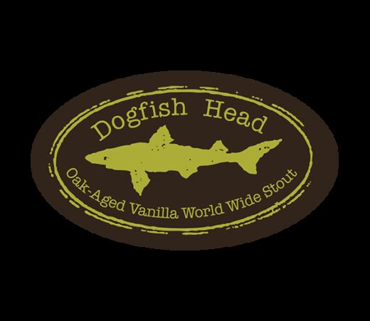 DOGFISH HEAD OAK AGED VANILLA WORLD WIDE STOUT