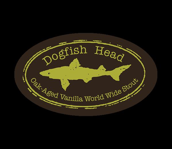DOGFISH HEAD OAK AGED VANILLA WORLD WIDE STOUT - Crescent Crown