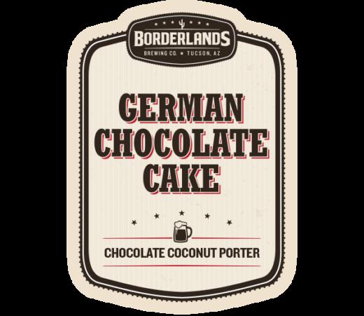 BORDERLANDS GERMAN CHOCOLATE CAKE PORTER (S)