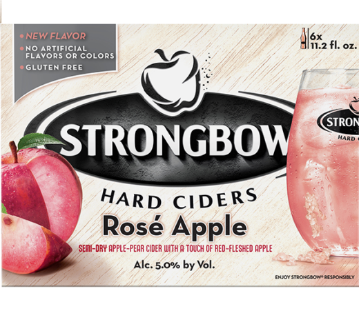 STRONGBOW ROSÉ APPLE