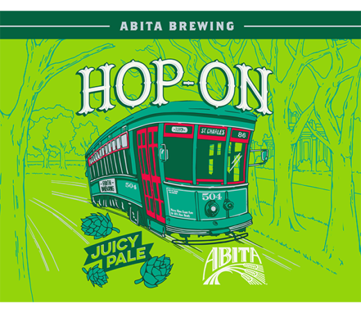 ABITA HOP ON JUICY PALE ALE