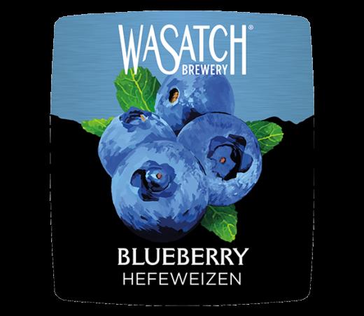 WASATCH BLUEBERRY HEFEWEIZEN
