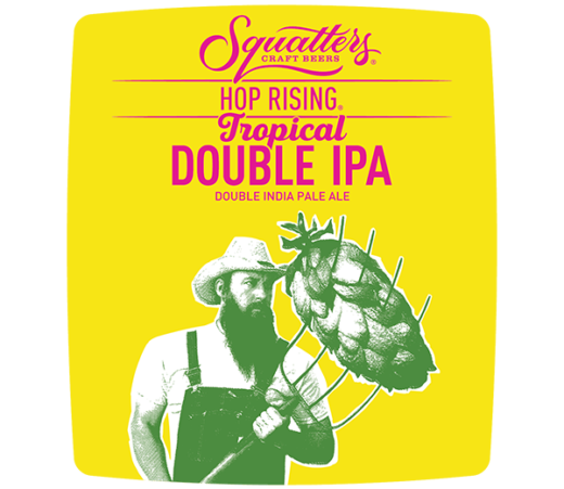 SQUATTERS HOP RISING TROPICAL DOUBLE IPA