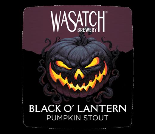 WASATCH BLACK O'LANTERN PUMPKIN STOUT