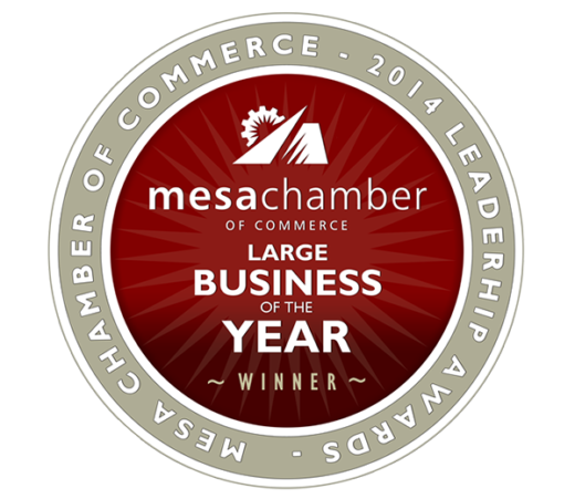 Large Business of the Year: Presented by Mesa Chamber of Commerce Business Leadership Award