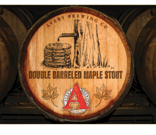 AVERY DOUBLE BARRELED MAPLE STOUT